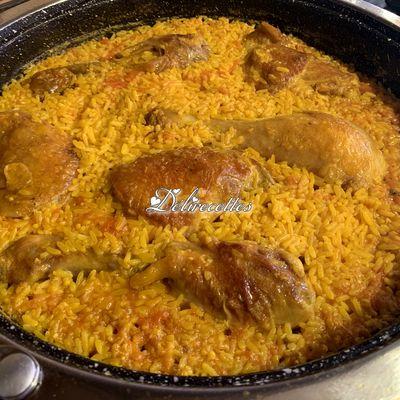 Arroz con pollo (riz au poulet)