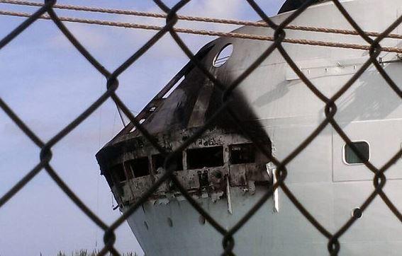 Incendie sur un paquebot aux Bahamas