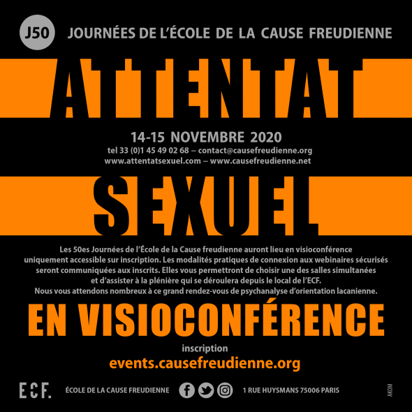 ECF - J50 - ATTENTAT SEXUEL  - EN VISIOCONFERENCE -
