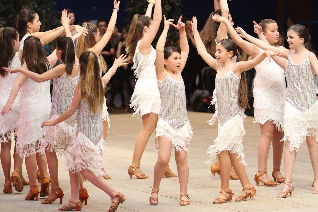 La nouveauté de cette édition, le Défi danses, ici l'ensemble de Besançon