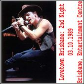 U2 -Lovetown Tour -03/10/1989 -Brisbane -Australie -Entertainment Center #2 - U2 BLOG