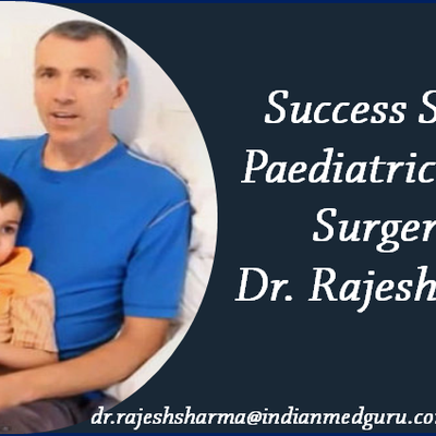Seeking the help of Dr. Rajesh Sharma the Global Patient from Iran made her child healthy