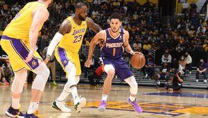 Les Suns envoient les champions en titre en vacances ! Une première pour LeBron James dès le premier tour