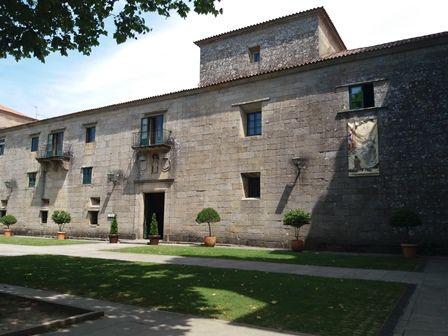 Monastère de Poio, extèrieur et intérieur.