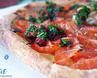 Repas d'un Soir #44 : Tarte Fine aux Tomates, Moutarde et Herbes Fraiches !