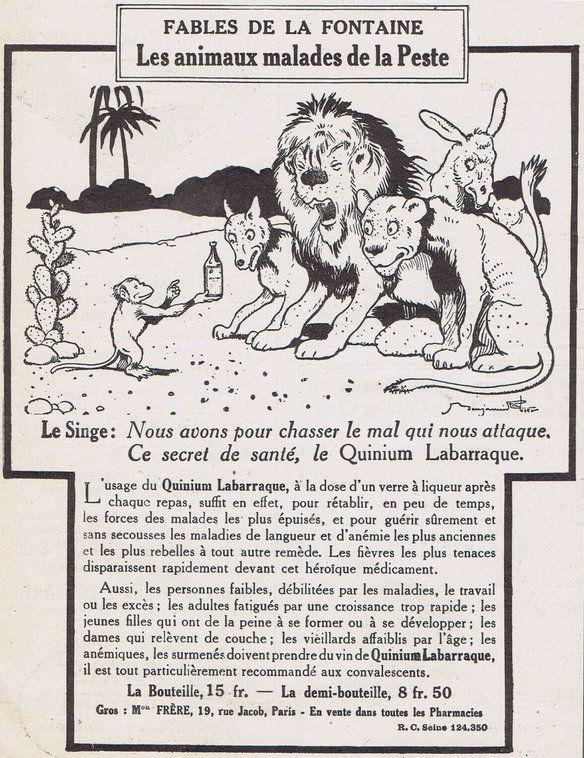 PUBLICITES :  LES  GRANDS  NOMS  DE  L'AFFICHE ...    Benjamin  RABIER.