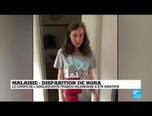 Disparition de Nora : le corps de l'adolescente franco-irlandaise a été identifié