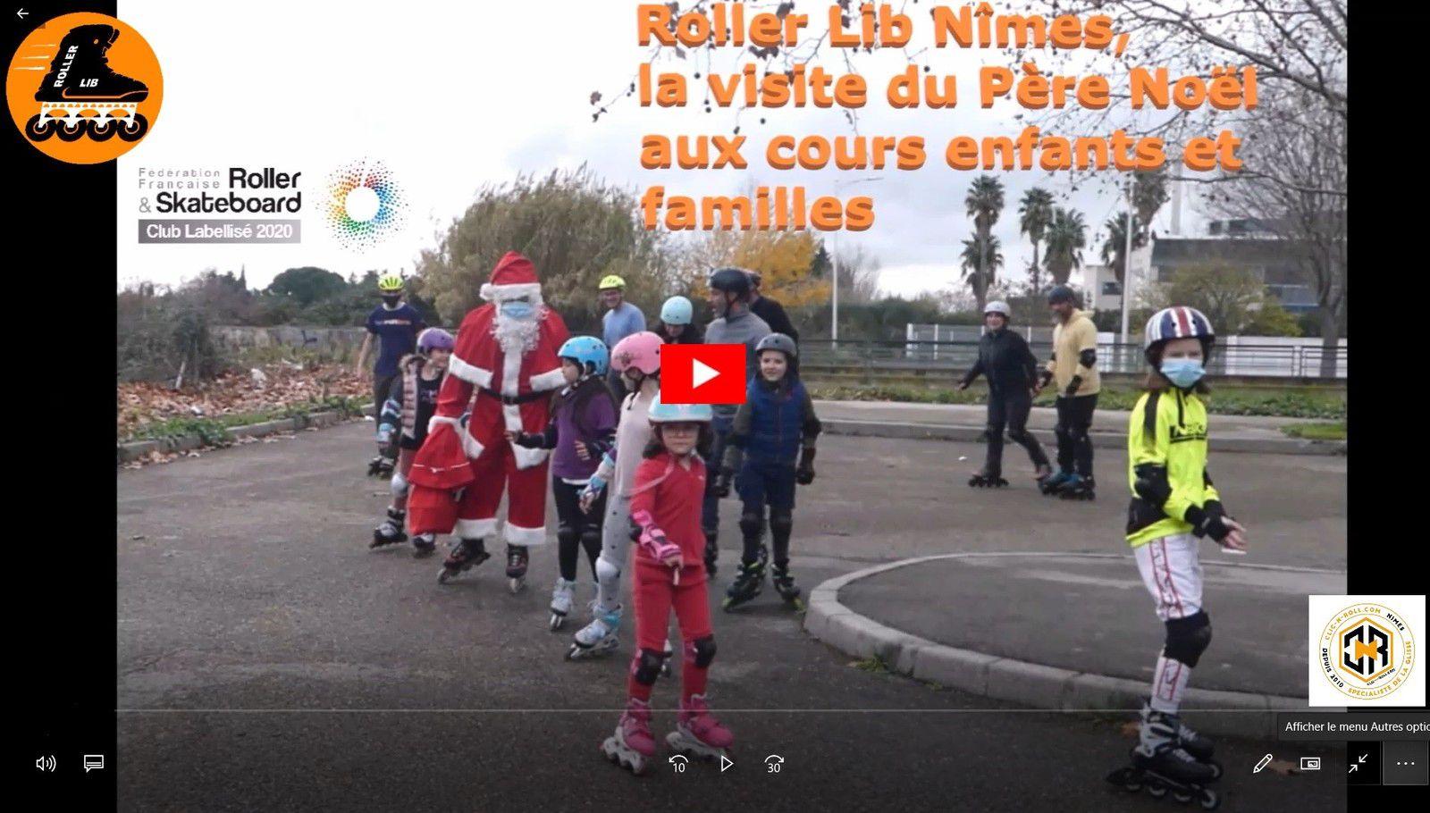 Roller Lib, club sport, plein air, Nîmes, Gard, cours, essai, initiation, enfant, adulte, activité, clic n roll,