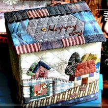 Petite maison quiltée en vidéo
