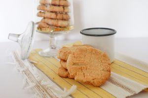 Biscuits au tahini et aux sésames