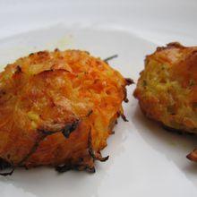 Paillasson de pomme de terre - carotte