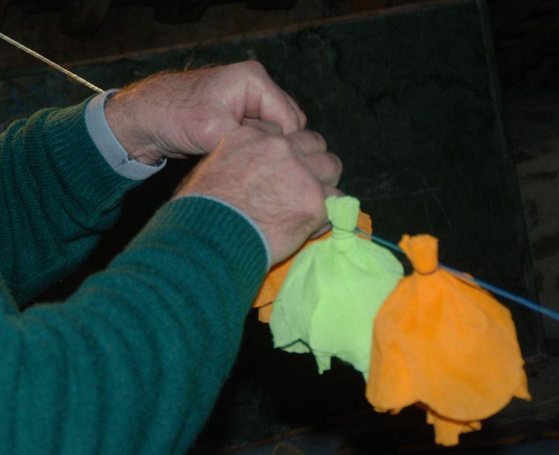 Préparation de la Fête 2010 et des images d'anciennes bénédictions de la mer.