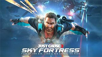 Le pack Sky Fortress dispo pour Just Cause 3 !