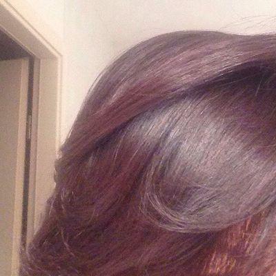 Coloration cheveux henné et amla