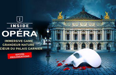 Inside Opéra : escape game au Palais Garnier