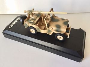 Collector : Jeep avec canon 106 SR au 1/43 (Club Solido)