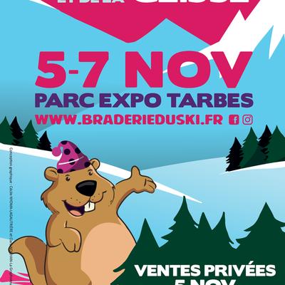 Braderie du ski et de la glisse 2021 de Tarbes