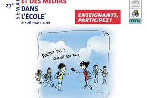Semaine de la presse et des médias à l'école 2016