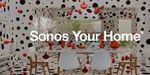 Yayoi Kusama contamine la pub Sonos: un délire psychédélique de pois noirs
