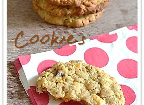 Cookies cornflakes et chocolat - gingembre