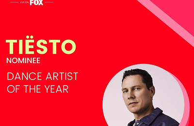 Vote Tiësto Now - iHeartRadio Music Awards 2021