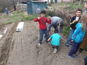 Un après midi avec les apprentis jardiniers de Bel Air