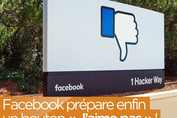 Facebook prépare enfin un bouton « J'aime pas » ! #Like