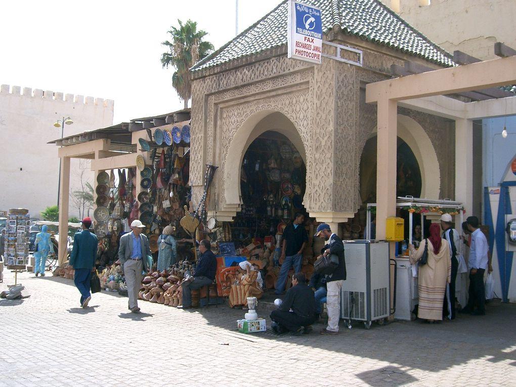 1ére partie du voyage au Maroc