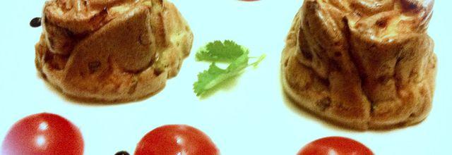 Clafoutis de poireaux et saumon fumé