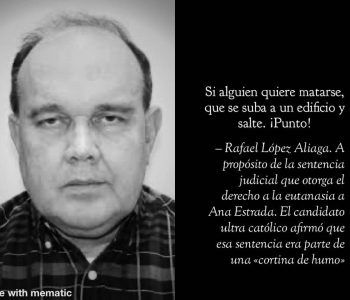 Rafael Lopez Aliaga, el hombre que el Opus Dei quiere como Presidente del Perú.