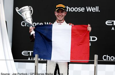 Anthoine Hubert sacré champion de GP3