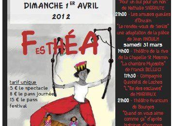 Festival régional de théâtre FESTHEA