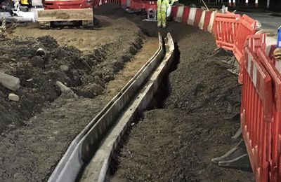 Sorts of Work Performed by Wet Utility Project workers