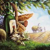 Nos gentils elfes font de la récup... une bouteille sera leur nouvel habitat - Le Blog de Mamily