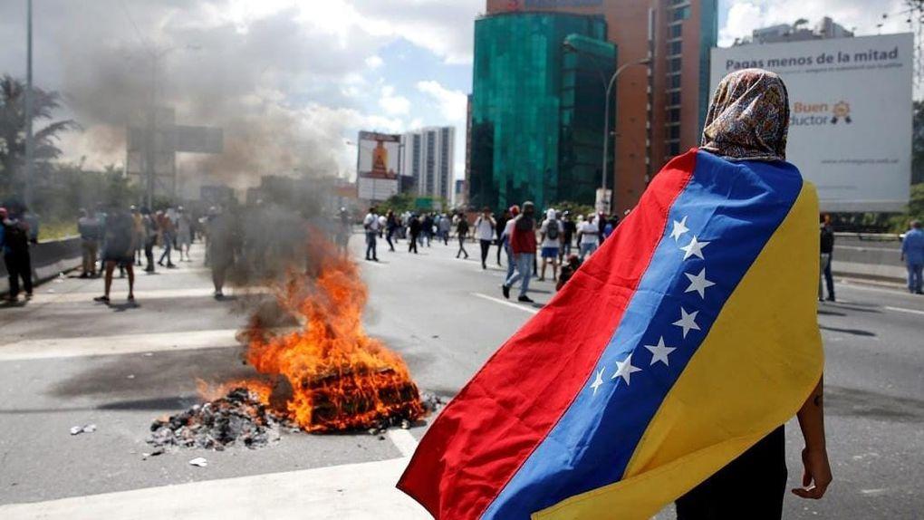 Imágenes de la convulsa Venezuela de Nicolás Maduro.- El Muni.
