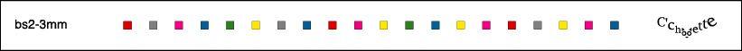 Album - barrettes a saccades - formes-geometriques - dessins
