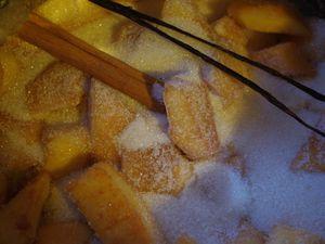 Confiture coing, vanille, citron & cannelle