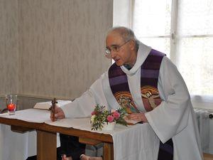 Les jeunes des deux retraites ont célébré l'Eucharistie.