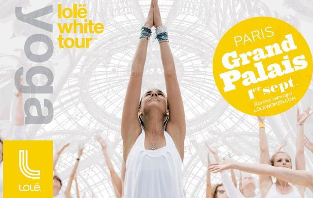 Lolë White Tour à Paris le 1/09 (giveaway inside)