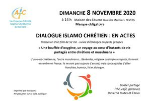 SERIC 2020, 8 novembre, 58000, Nevers : Dialogue en actes