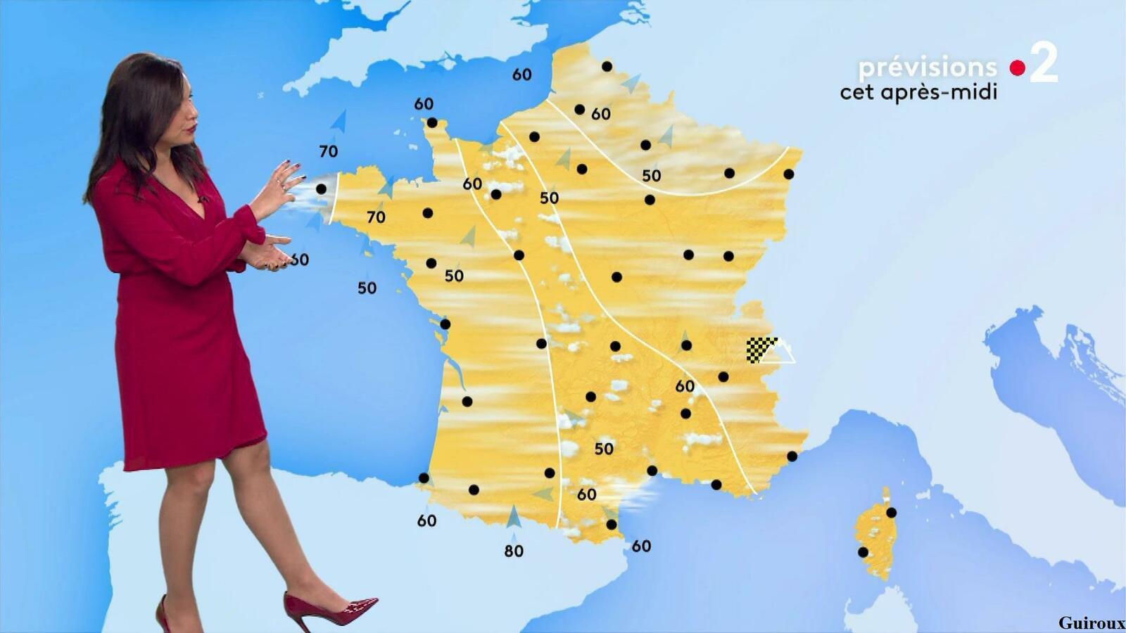 Anaïs Baydemir 08/05/2021 Journaux météo du midi