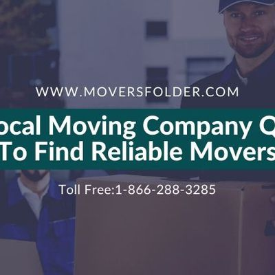 Use Local Moving Company Quotes to Find Reliable Movers
