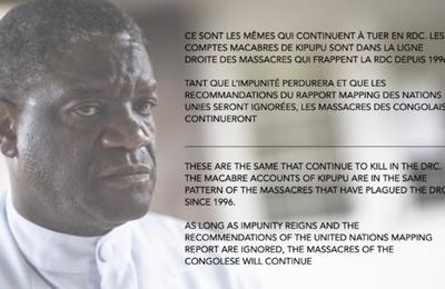 Pétition pour la protection Du Dr Denis Mukwege, pris Nobel de la paix, menacé de mort