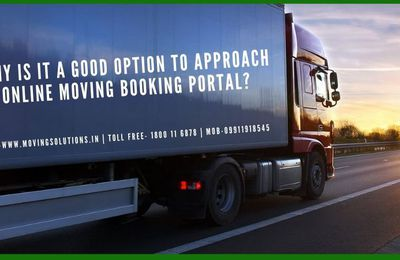 Why is it a good option to approach online moving booking portal?
