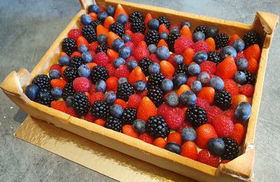"La tarte ""cagette de fruits"""