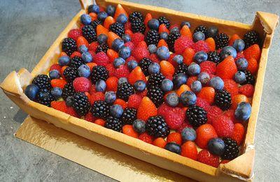 """La tarte """"cagette de fruits"""""""