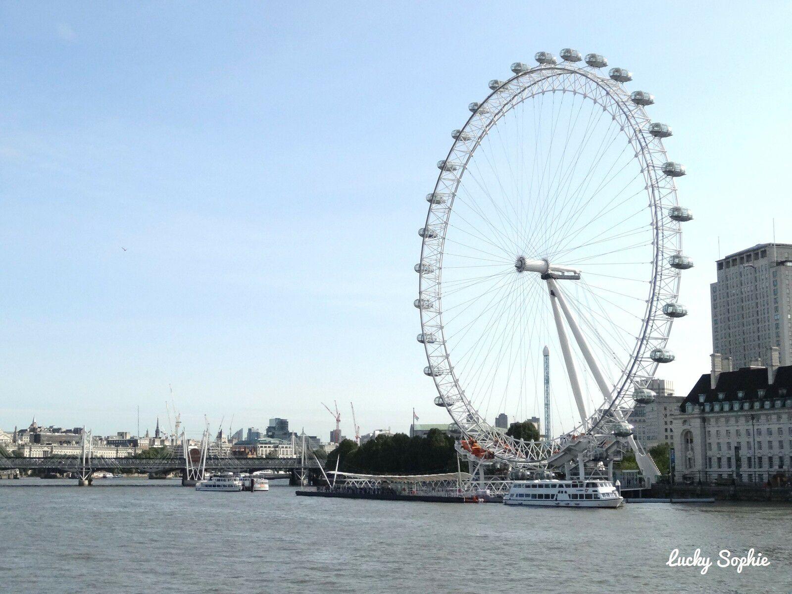 Bien que tentante, la grande roue du London Eye a été écartée du programme à cause de son prix.