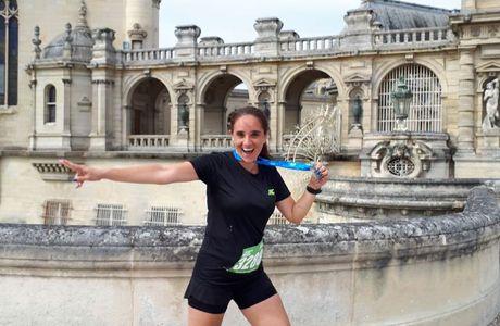Mon beau semi-marathon du Château de Chantilly