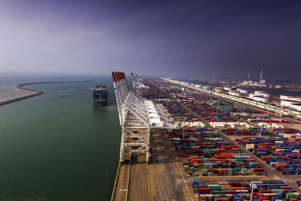 Les ports de l'axe Seine en forte croissance
