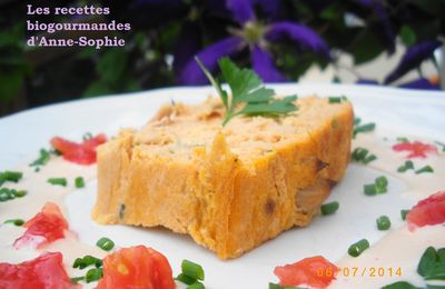 TERRINE AU THON EXPRESS ET SA SAUCE COCKTAIL REVISITEE